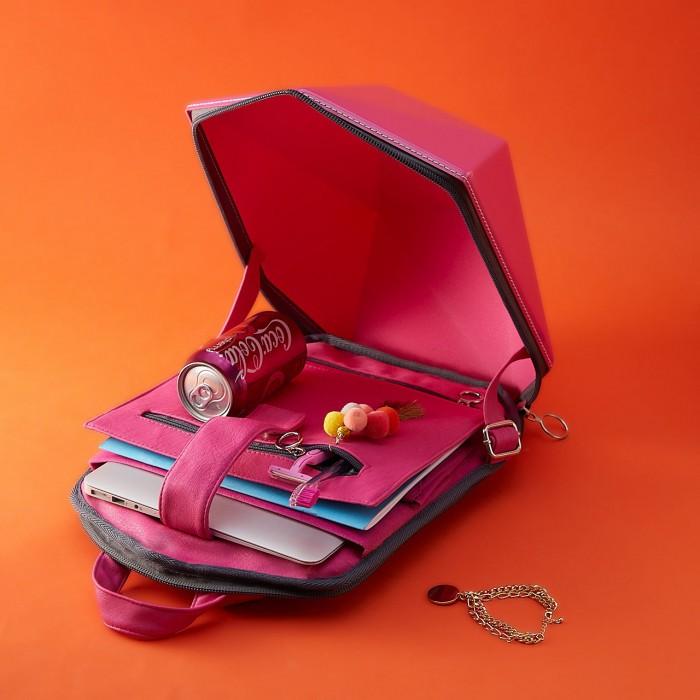 Рюкзак CityVagabond Superhero розовый