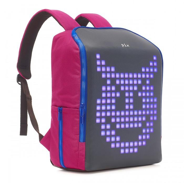 Рюкзак с LED экраном Pix Mini сливовый