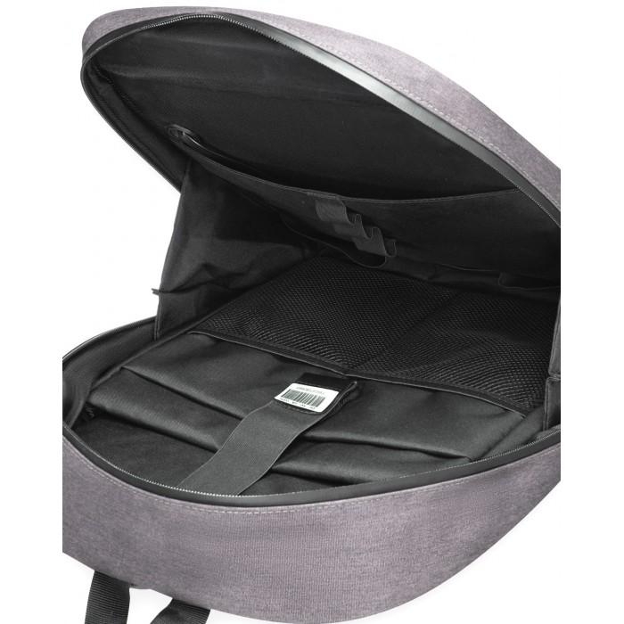 Рюкзак с LED-дисплеем Pixel Max серый
