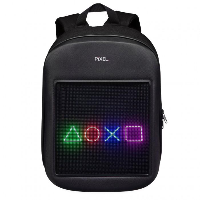 Рюкзак с LED-дисплеем Pixel One черный