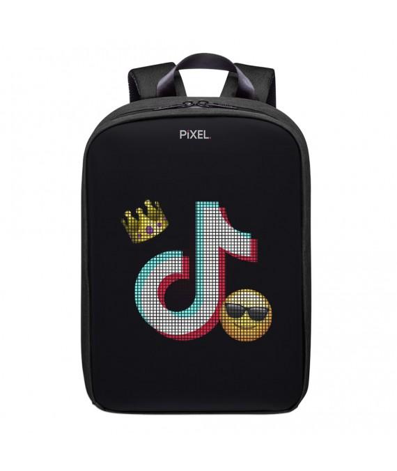 Рюкзак с LED-дисплеем Pixel Plus черный