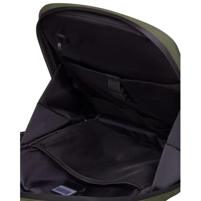 Рюкзак с LED-дисплеем Pixel Plus темно-зеленый