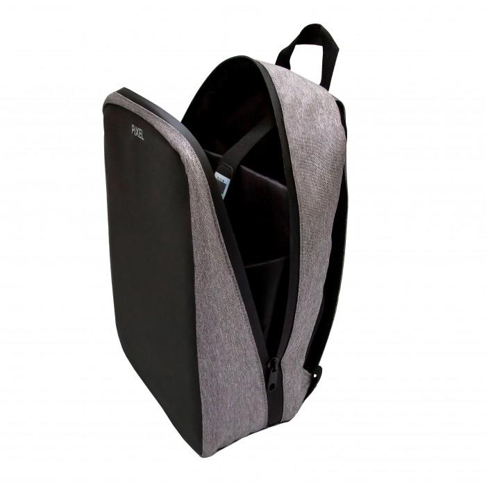 Рюкзак с LED-дисплеем Pixel Plus серый