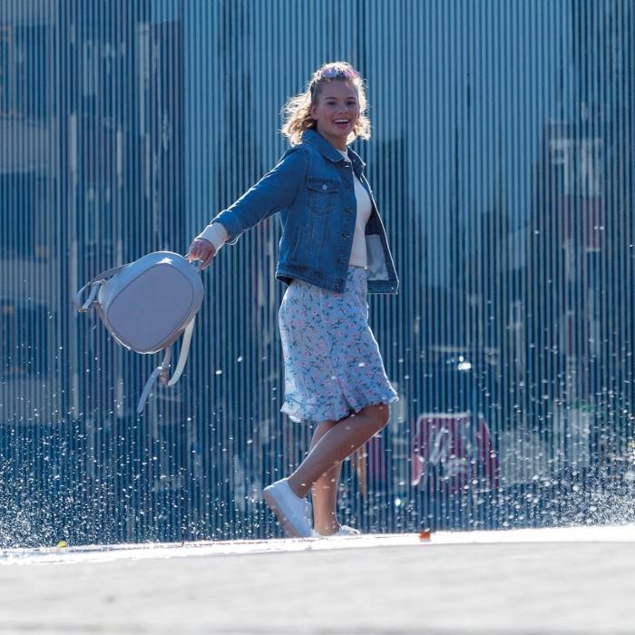 Рюкзак XD Design Bobby Elle голубой